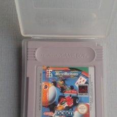 Videojuegos y Consolas: NINTENDO GAMEBOY MICRO MACHINES CARTUCHO + FUNDA PAL R10139. Lote 195466983