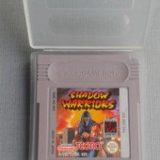 Videojuegos y Consolas: NINTENDO GAMEBOY SHADOW WARRIORS CARTUCHO + FUNDA PAL R10140. Lote 195466998