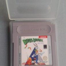 Videojuegos y Consolas: NINTENDO GAMEBOY BUGS BUNNY CRAZY CASTLE CARTUCHO + FUNDA PAL R10141. Lote 195467041