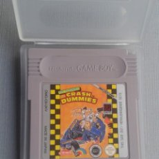Videojuegos y Consolas: NINTENDO GAMEBOY THE INCREDIBLE CRASH DUMMIES CARTUCHO + FUNDA PAL R10142. Lote 195467075