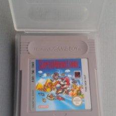 Videojuegos y Consolas: NINTENDO GAMEBOY SUPER MARIO LAND CARTUCHO + FUNDA PAL R10144. Lote 195467136