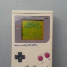 Videojuegos y Consolas: NINTENDO GAME BOY CLASICA FAT DMG-01 GRIS PLENO FUNCIONAMIENTO PANTALLA NUEVA R10131. Lote 195471056