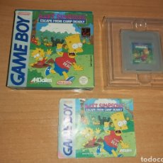 Videojuegos y Consolas: BART SIMPSONS ESCAPE GAME BOY NINTENDO GAMEBOY ESP. Lote 195478870