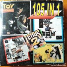 Videojuegos y Consolas: 105 IN 1 - NUEVO EN CAJA- GAME BOY VIDEOJUEGO - TOY STORY- JUNGLE BOOK- NHL- FLAPPY- BUBBLE GHOST.... Lote 195996706