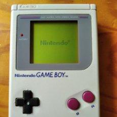 Videojuegos y Consolas: GAME BOY ORIGINAL - NINTENDO - FUNCIONANDO & BUEN ESTADO -. Lote 195997151