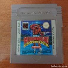 Videojuegos y Consolas: MUHAMMAD ALI GAME BOY CARTUCHO EN ESPAÑOL. Lote 196812067