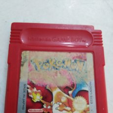 Videojuegos y Consolas: NINTENDO GAME BOY POKEMON ( COLORADO ). Lote 197489981