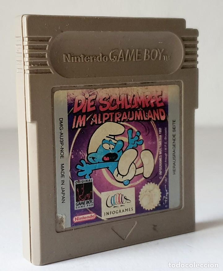 NINTENDO GAME BOY PITUFO (Juguetes - Videojuegos y Consolas - Nintendo - GameBoy)