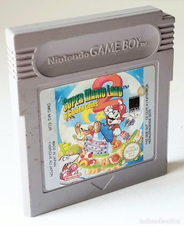 SUPER MARIO LAND 6 GOLDEN COINS *** JUEGO NINTENDO GAME BOY (Juguetes - Videojuegos y Consolas - Nintendo - GameBoy)