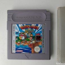 Videojuegos y Consolas: WARIO LAND SUPER MARIO LAND 3 NINTENDO GAMEBOY. Lote 198920120