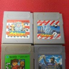 Videojuegos y Consolas: JUEGOS GAME BOY EDICIÓN JAPONESA. Lote 198970250