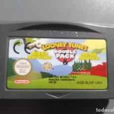 Videojuegos y Consolas: LOONEY TUNES DOUBLE PACK FÜR GAMEBOY ADVANCE SP UND DS LITE. Lote 199088433
