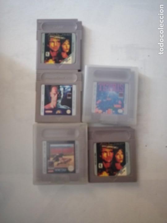 5 JUEGOS DE GAMEBOY. (Juguetes - Videojuegos y Consolas - Nintendo - GameBoy)