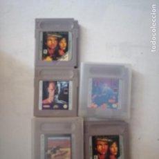 Videojuegos y Consolas: 5 JUEGOS DE GAMEBOY.. Lote 199529312