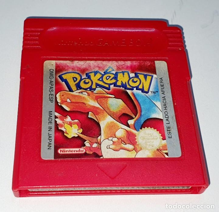 JUEGO NINTENDO GAME BOY POKEMON ROJO (Juguetes - Videojuegos y Consolas - Nintendo - GameBoy)