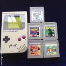 Videojuegos y Consolas: GAMEBOY TM 5 JUEGOS TODO FUNCIONA BIEN , COMO SE VE EN LAS FOTOS. Lote 199912053