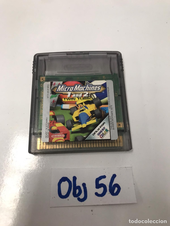 JUEGO MICRO MACHINES (Juguetes - Videojuegos y Consolas - Nintendo - GameBoy)