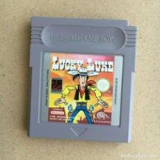 Videojuegos y Consolas: JUEGO GAMEBOY ORIGINAL - LUCKY LUKE - PAL NOE GAME BOY NINTENDO. Lote 202679298