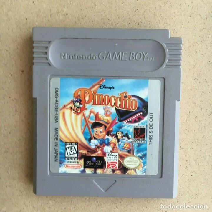 JUEGO GAMEBOY ORIGINAL - DISNEY PINOCCHIO (PINOCHO) - VERSION USA GAME BOY NINTENDO (Juguetes - Videojuegos y Consolas - Nintendo - GameBoy)
