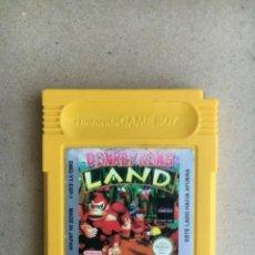 Videojuegos y Consolas: JUEGO GAMEBOY ORIGINAL - DONKEY KONG LAND - PAL ESPAÑA GAME BOY NINTENDO. Lote 202680437