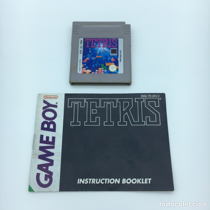 JUEGO GAMEBOY ORIGINAL - TETRIS + MANUAL - PAL UKV GAME BOY NINTENDO (Juguetes - Videojuegos y Consolas - Nintendo - GameBoy)