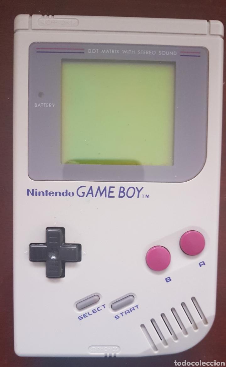 PRIMERA CONSOLA GAME BOY (Juguetes - Videojuegos y Consolas - Nintendo - GameBoy)