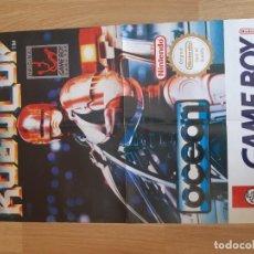 Videojuegos y Consolas: POSTER GAME BOY,ROBOCOP. Lote 202789777