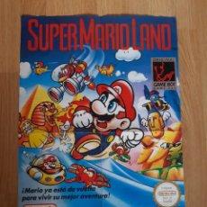 Videojuegos y Consolas: POSTER GAME BOY,SUPER MARIO LAND. Lote 203183471