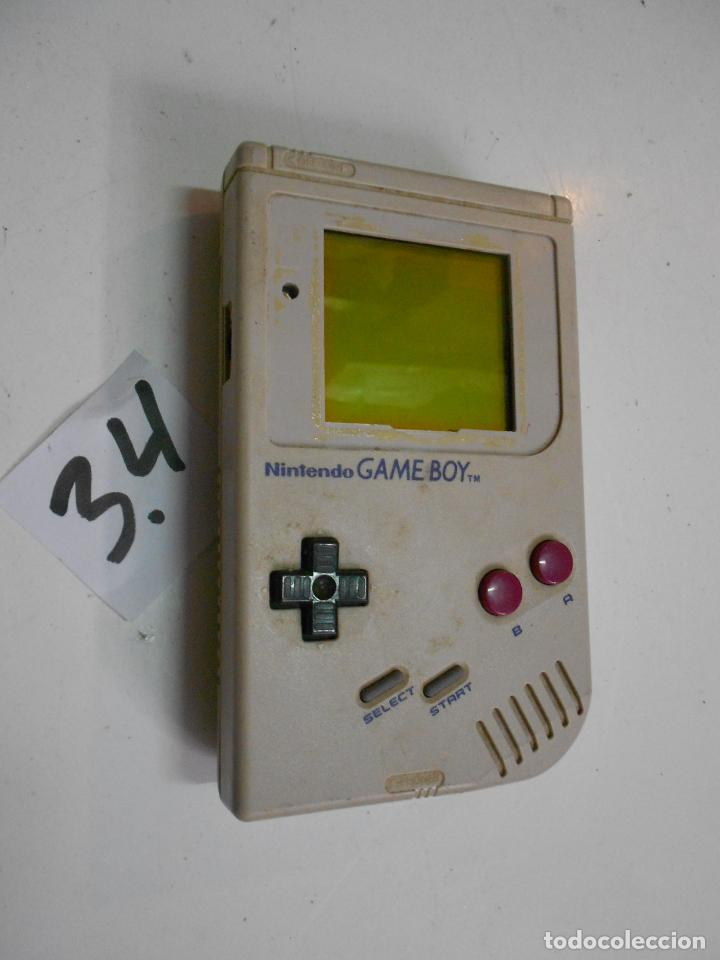 ANTIGUA CONSOLA GAMEBOY (Juguetes - Videojuegos y Consolas - Nintendo - GameBoy)