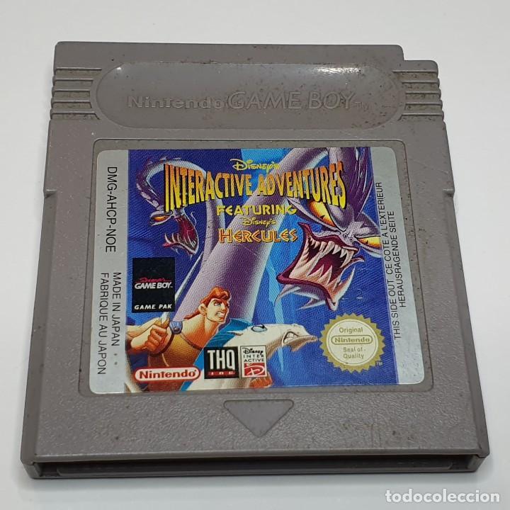 HERCULES JUEGO NINTENDO GAME BOY (Juguetes - Videojuegos y Consolas - Nintendo - GameBoy)