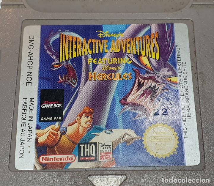 Videojuegos y Consolas: HERCULES JUEGO NINTENDO GAME BOY - Foto 2 - 204476965