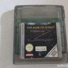 Videojuegos y Consolas: THE MASK OF ZORRO GAME BOY COLOR. Lote 204627618