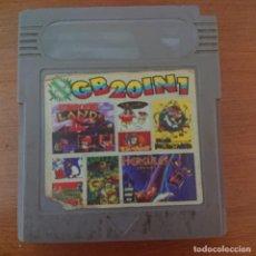 Videojuegos y Consolas: GB 20 IN 1 GAME BOY CARTUCHO. Lote 204749342