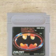 Videojuegos y Consolas: CARTUCHO ORIGINAL NINTENDO GAMEBOY BATMAN 1989. Lote 205160827