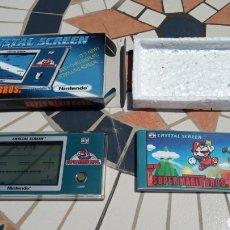 Videojuegos y Consolas: GAME & WATCH CRYSTAL SCREEN SUPER MARIO BROS. Lote 205246920