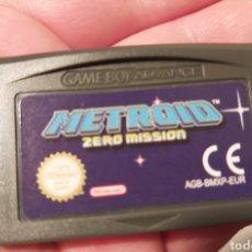 Videojuegos y Consolas: JUEGO METROID ZERO MISSION GAMEBOY GAME BOY ADVANCE. Lote 275964948