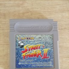 Videojuegos y Consolas: CARTUCHO ORIGINAL NINTENDO GAMEBOY STREET FIGHTER 2. Lote 205403642