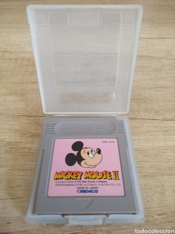 Videojuegos y Consolas: Cartucho original Gameboy Mickey Mouse 2 - Foto 4 - 205546465