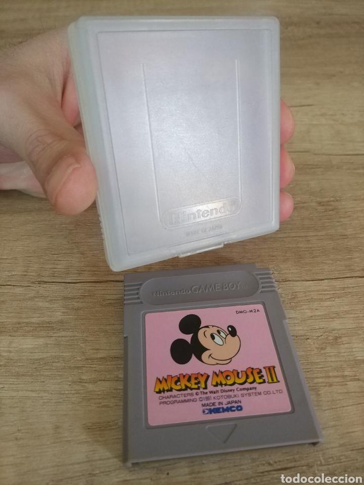 Videojuegos y Consolas: Cartucho original Gameboy Mickey Mouse 2 - Foto 6 - 205546465