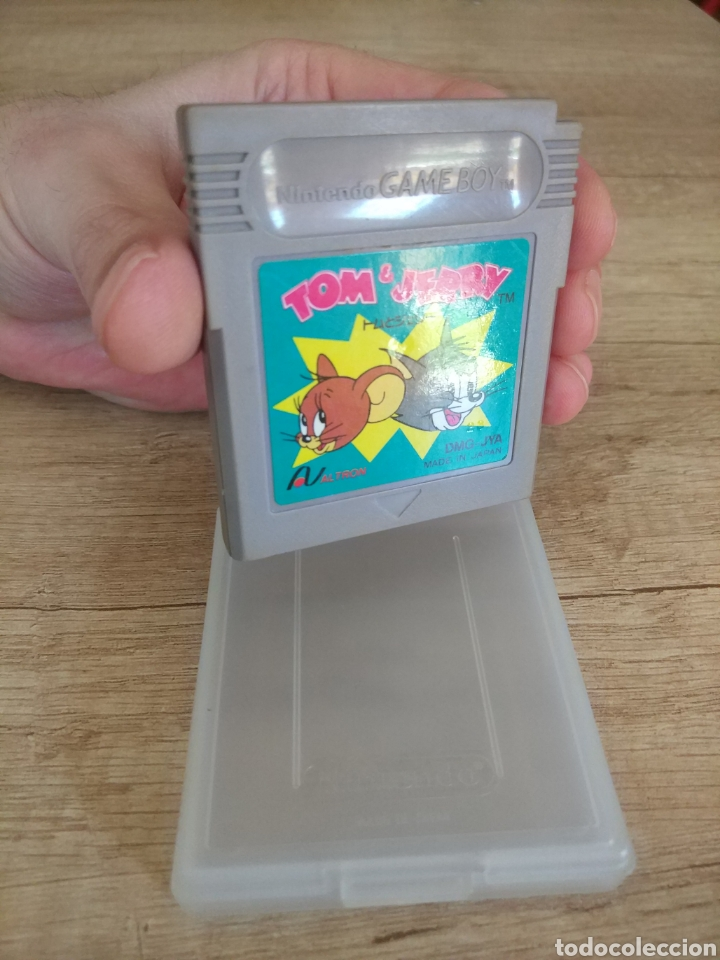 Videojuegos y Consolas: Cartucho original Nintendo Gameboy Tom y Jerry - Foto 3 - 205551237