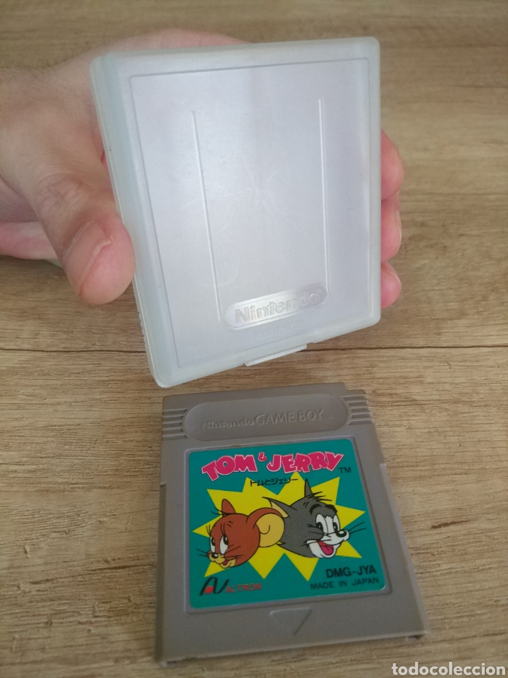 Videojuegos y Consolas: Cartucho original Nintendo Gameboy Tom y Jerry - Foto 4 - 205551237