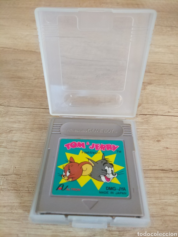 Videojuegos y Consolas: Cartucho original Nintendo Gameboy Tom y Jerry - Foto 5 - 205551237