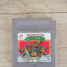 Videojuegos y Consolas: CARTUCHO ORIGINAL NINTENDO GAMEBOY TORTUGAS NINJA. Lote 157819065