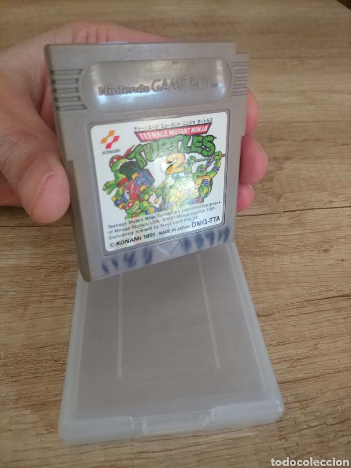 Videojuegos y Consolas: Cartucho Nintendo Gameboy Tortugas Ninja 2 - Foto 3 - 157824488