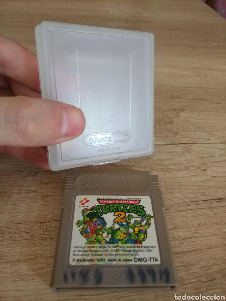 Videojuegos y Consolas: Cartucho Nintendo Gameboy Tortugas Ninja 2 - Foto 4 - 157824488