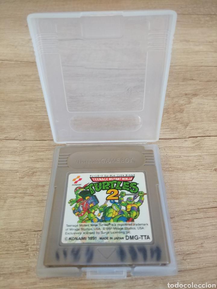Videojuegos y Consolas: Cartucho Nintendo Gameboy Tortugas Ninja 2 - Foto 9 - 157824488