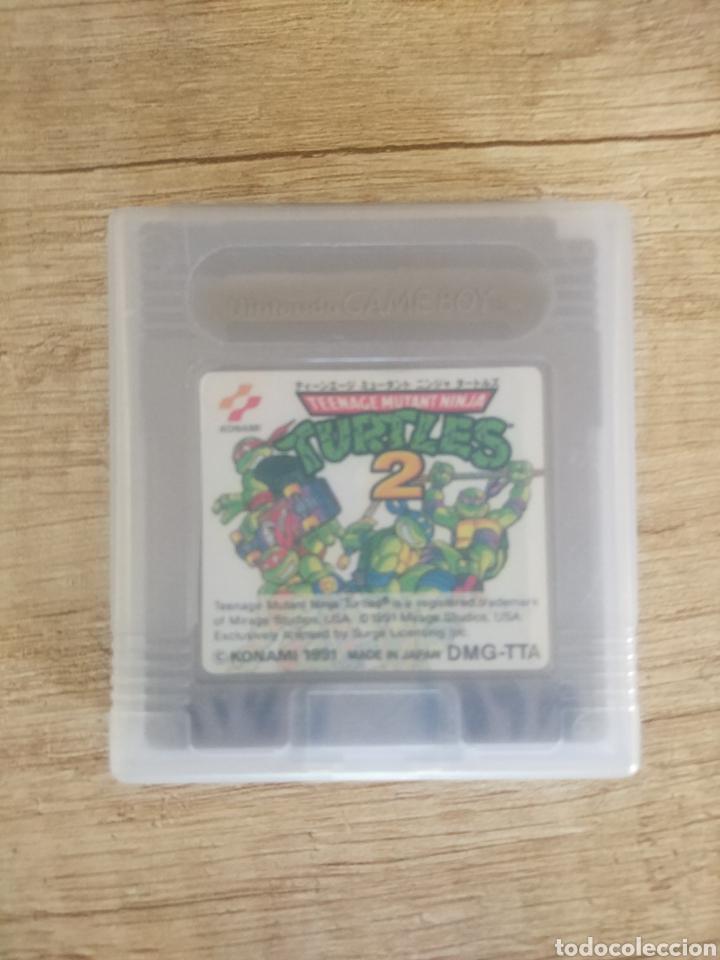 Videojuegos y Consolas: Cartucho Nintendo Gameboy Tortugas Ninja 2 - Foto 11 - 157824488