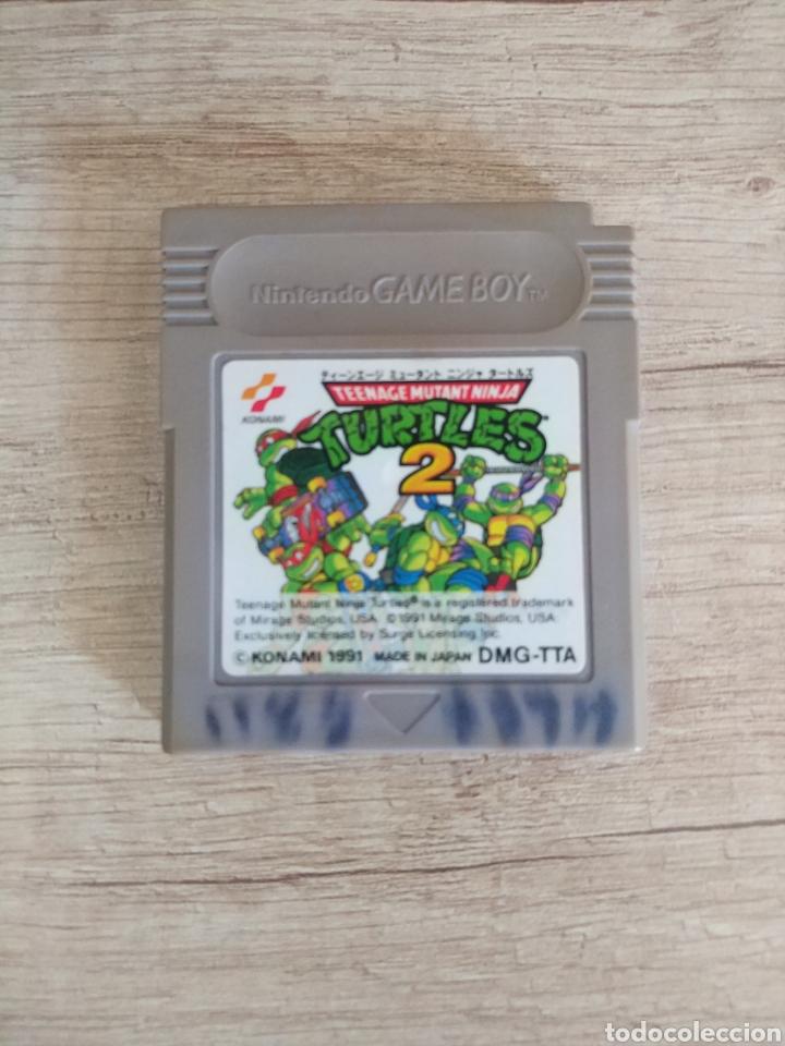 CARTUCHO NINTENDO GAMEBOY TORTUGAS NINJA 2 (Juguetes - Videojuegos y Consolas - Nintendo - GameBoy)