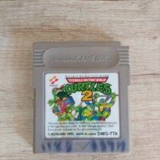 Videojuegos y Consolas: CARTUCHO NINTENDO GAMEBOY TORTUGAS NINJA 2. Lote 157824488