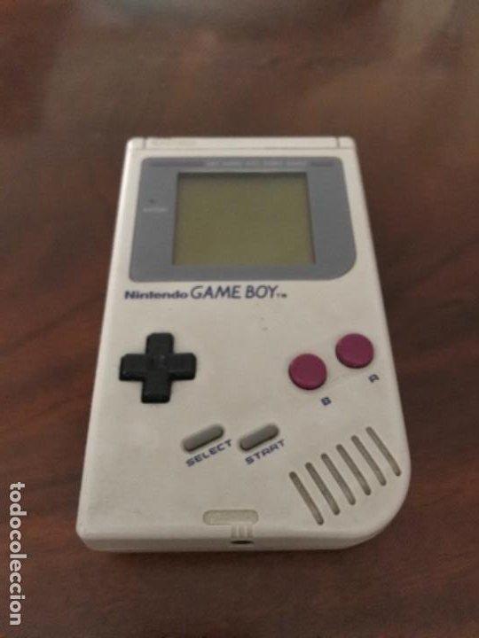 GAME BOY CLASICA DE NINTENDO AÑOS 80 FUNCIONANDO (Juguetes - Videojuegos y Consolas - Nintendo - GameBoy)
